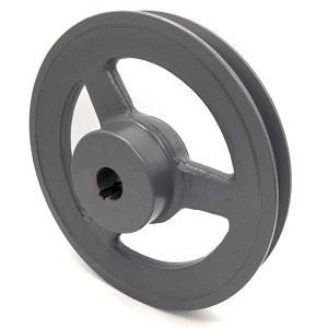 V-Groove Drive Pulley - 7'' Dia. - 3/4'' Bore - Cast Iron