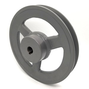 V-Groove Drive Pulley - 7'' Dia. - 5/8'' Bore - Cast Iron