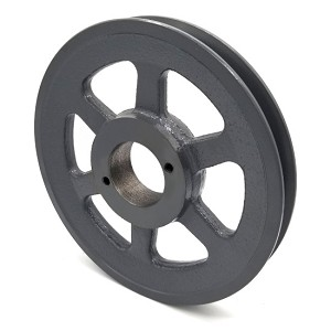 V-Groove Drive Pulley - 7'' Dia. - 1 5/8'' Bore - Cast Iron