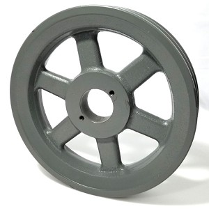 Double V-Groove Drive Pulley - 8.75'' Dia. - 1 5/8'' Bore - Cast Iron