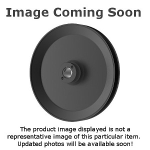 Toro 1-653386 Exmark 1-653386 V-Groove Drive Pulley - 6.75'' Dia. - 25mm Bore - Steel